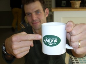 Coffee... the sweet elixir of the Gods, like Favre