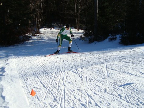 Jon Santor Races into the USTBBA Certified Biathlon Range