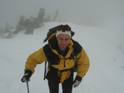 Jim heads up to the Summit of Gothics