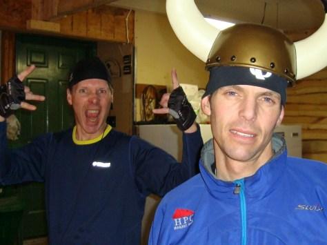 Rose keeps the Viking Helmet defying the gangsta thugs flashing their gang signs