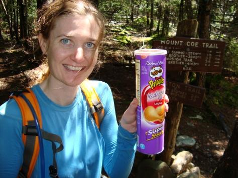 Pringles... the mountaineer's choice!